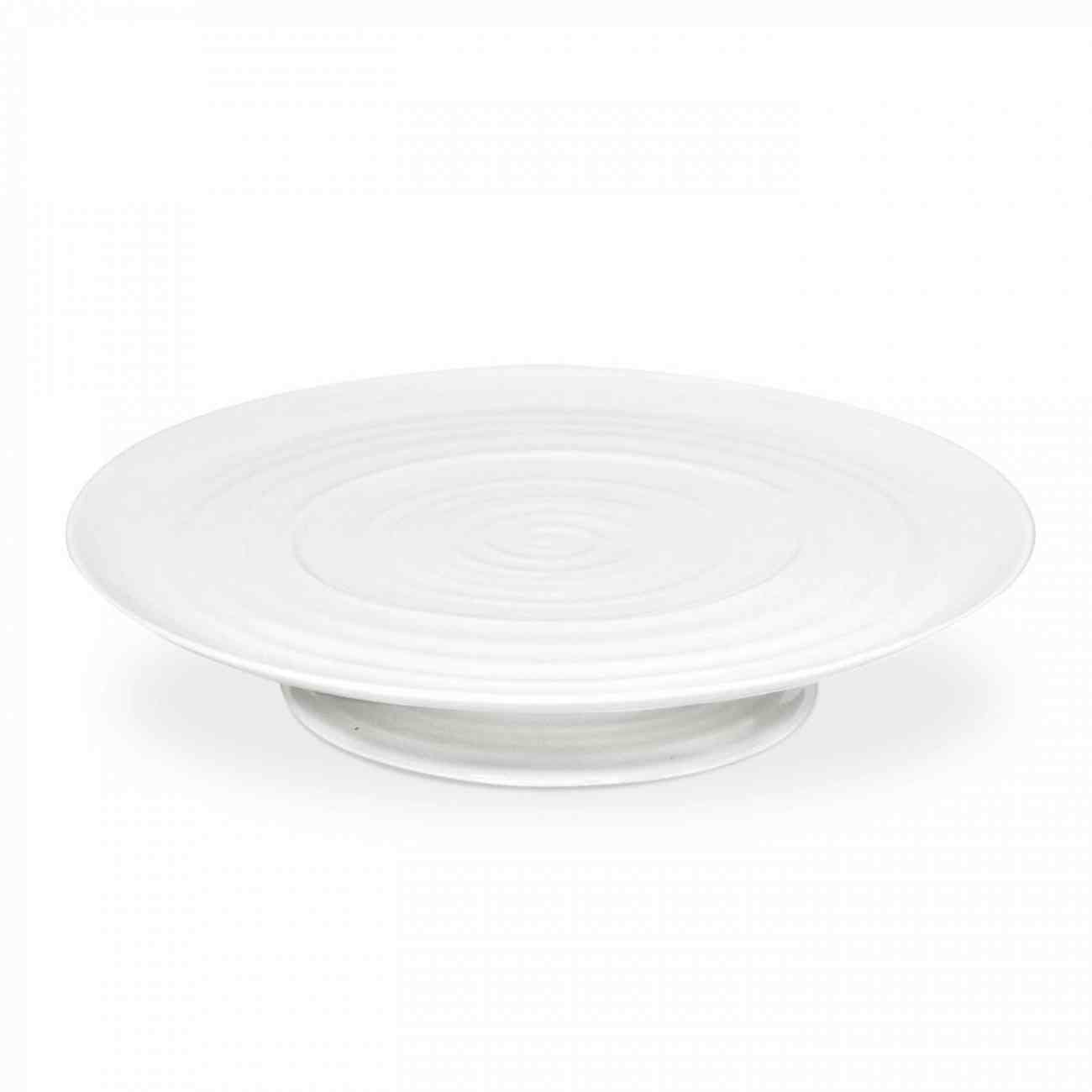 """SOPHIE CONRAN CAKE PLATE FOOTED 32 x 6cm/12.75"""" x 2.5"""" CPW76840-X"""