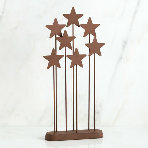 "WILLOW TREE METAL STAR BACKDROP - 13.5""h - 26007"