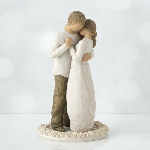"""WILLOW TREE PROMISE CAKE TOPPER - 6""""h - 26189 SOLD OUT"""