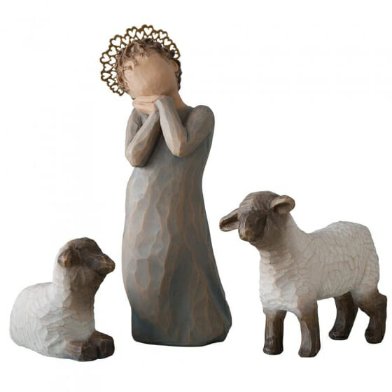 """WILLOW TREE LITTLE SHEPHERDESS 5""""h - 26442 SOLD OUT"""