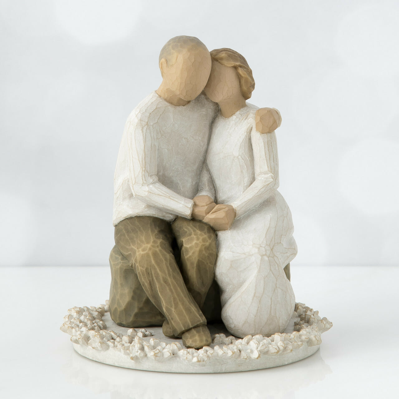 "WILLOW TREE ANNIVERSARY CAKE TOPPER - 4""h - 26453"
