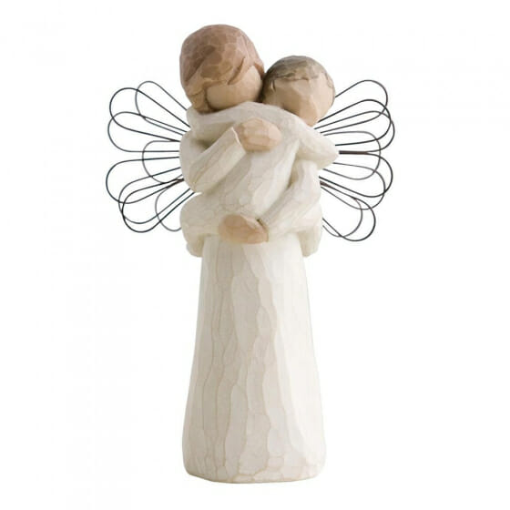 """WILLOW TREE ANGELS EMBRACE - 5"""" 26084"""
