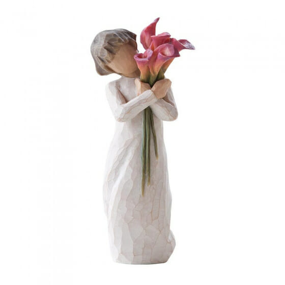 """WILLOW TREE  BLOOM - 5.5"""" 27159 - SOLD OUT"""