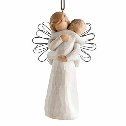"""WILLOW TREE ANGELS EMBRACE - 5.0"""" 26089"""