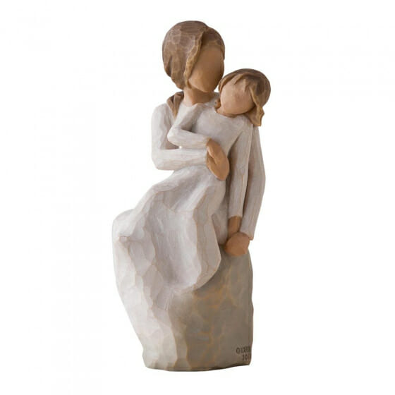"""WILLOW TREE MOTHER DAUGHTER - 6"""" 27270 - SOLD OUT"""
