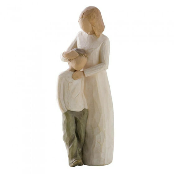 """WILLOW TREE MOTHER AND SON 26102  - 8"""""""
