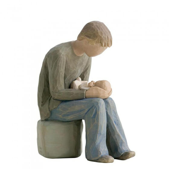 """WILLOW TREE NEW DAD 26129 - 6"""""""