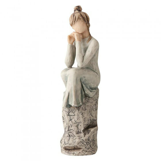 """WILLOW TREE PATIENCE - 7"""" 27537"""