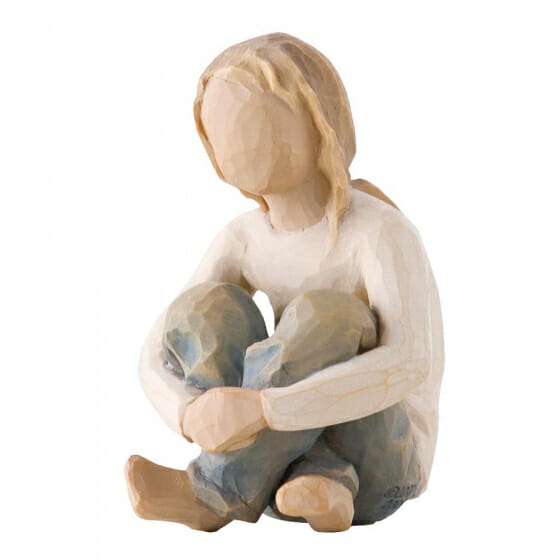 """WILLOW TREE SPIRITED CHILD  - 3.0"""" 26224 - SOLD OUT"""