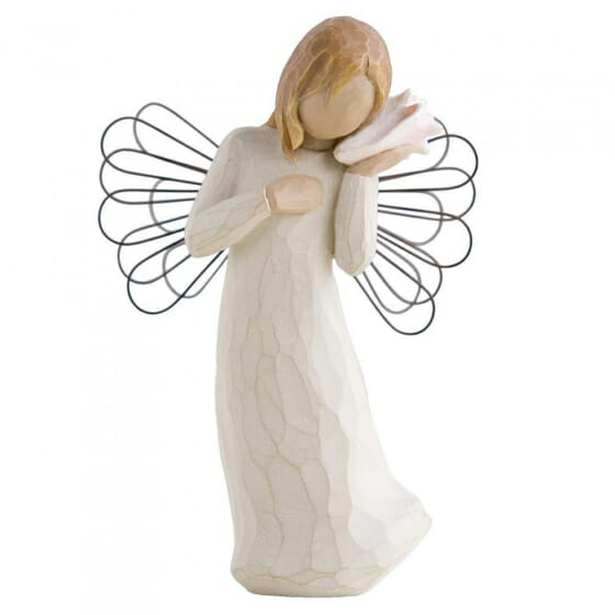 """WILLOW TREE THINKING OF YOU ANGEL  - 5.5"""" 26131"""
