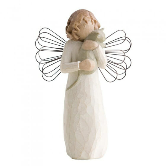 """WILLOW TREE WITH AFFECTION ANGEL  - 5"""" 26109"""