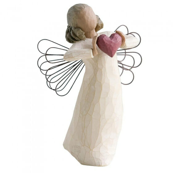 """WILLOW TREE WITH LOVE ANGEL - 5.5"""" 26182"""