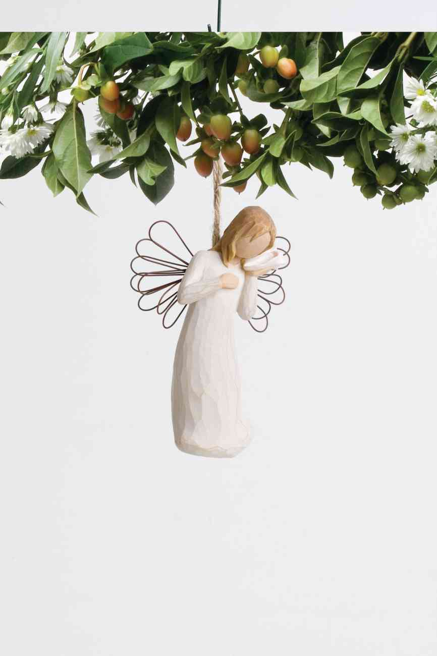 """WILLOW TREE THINKING OF YOU ORNAMENT 26157 4.5""""H"""