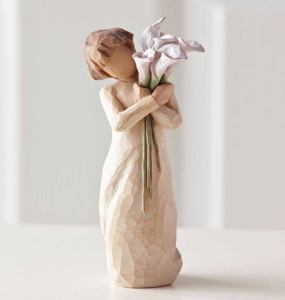 """WILLOW TREE BEAUTIFUL WISHES  FIGURINE  26246 5.5""""H - SOLD OUT"""