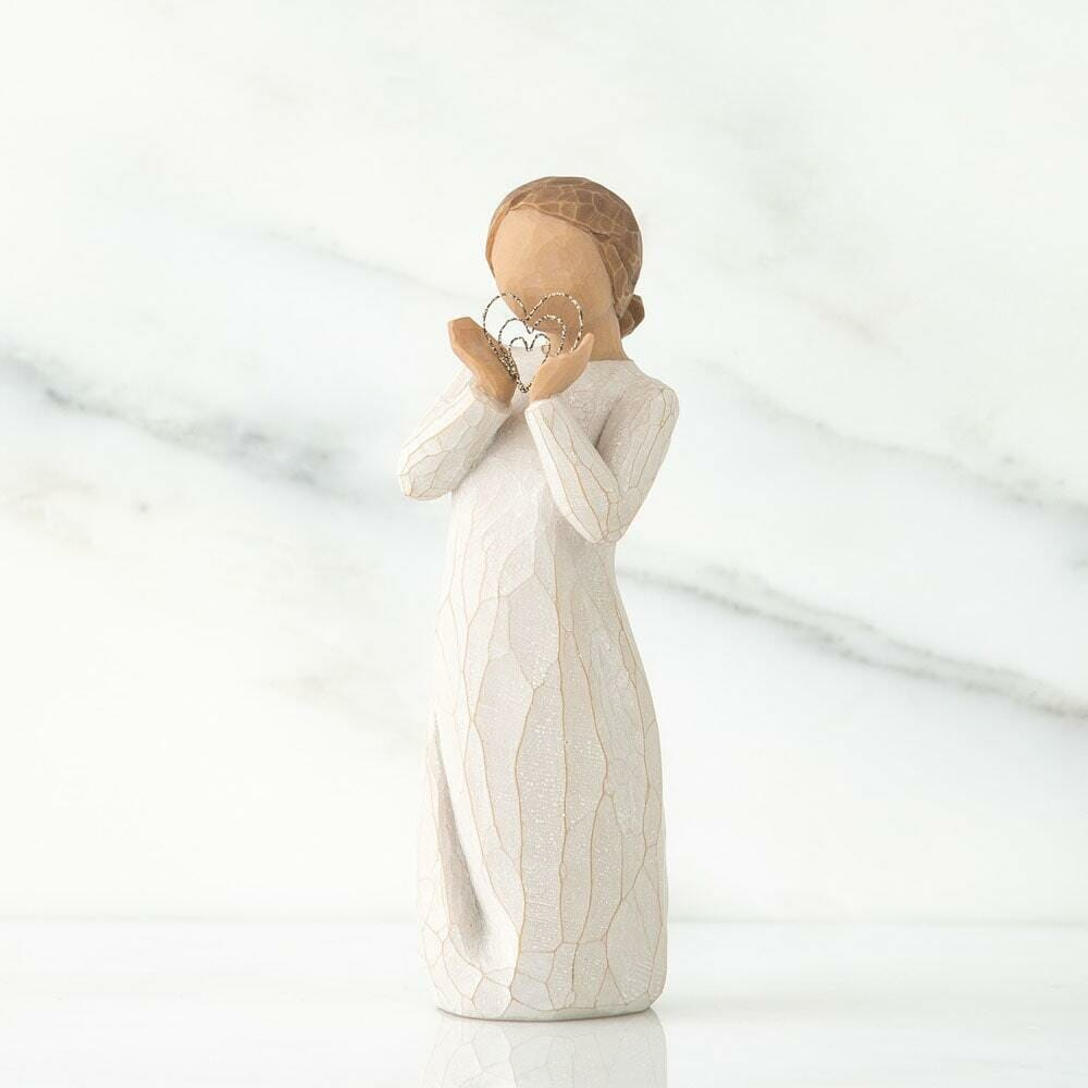 """WILLOW TREE LOTS OF LOVE FIGURINE 5.5""""H 27440 - SOLD OUT"""