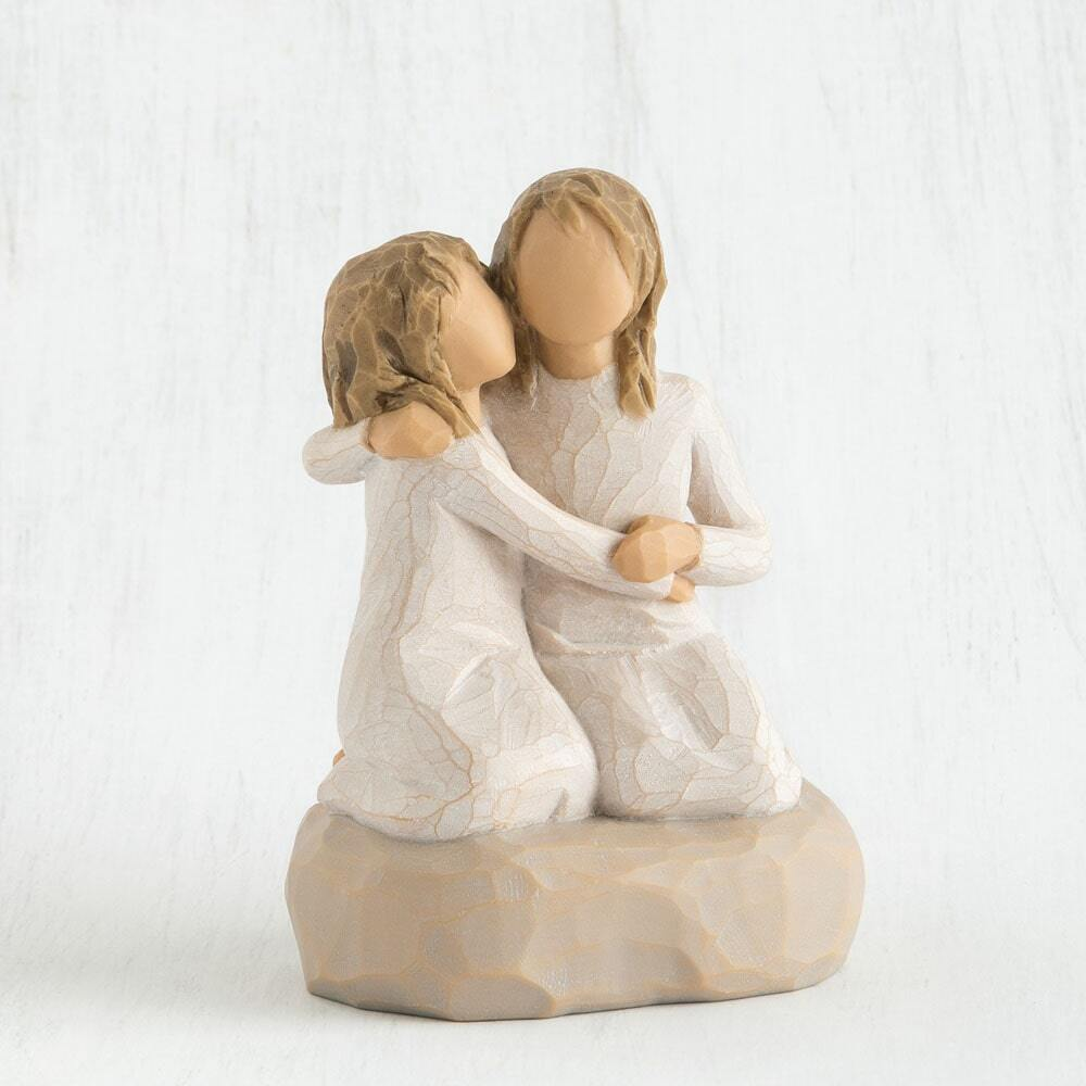 """WILLOW TREE - SISTER MINE FIGURINE 4""""H 27704 - SOLD OUT"""