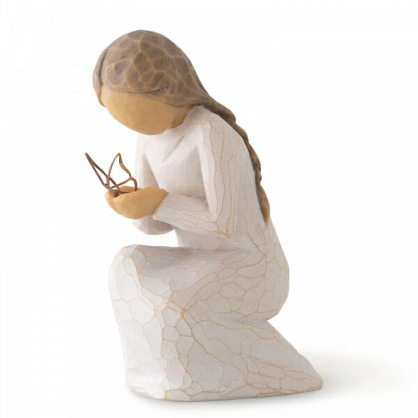 WILLOW TREE FIGURINE - QUITE WONDER 9CMH 28025