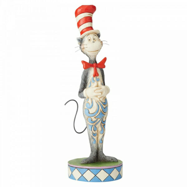 JIM SHORE - DR SEUSS THE CAT IN THE HAT 25CM 6002906 - SOLD OUT
