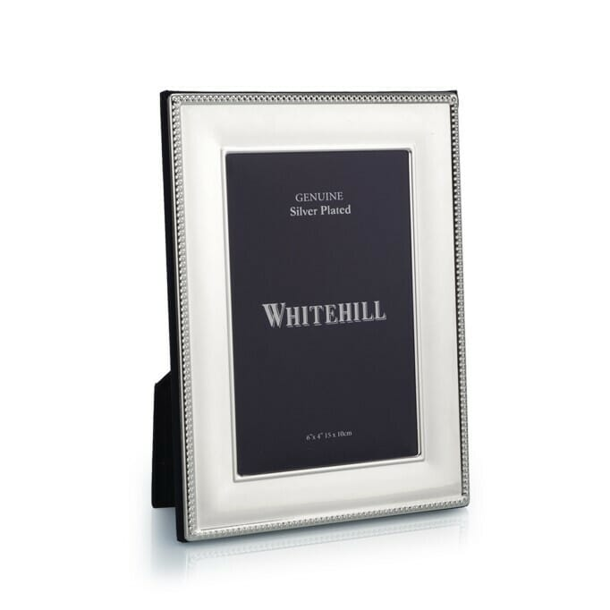WHITEHILL SILVER PLATED FRAME 10 X 15CM WP2410